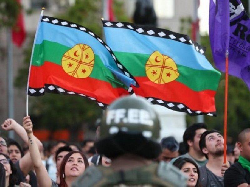 Presión ciudadana para fin de represión contra el pueblo Mapuche