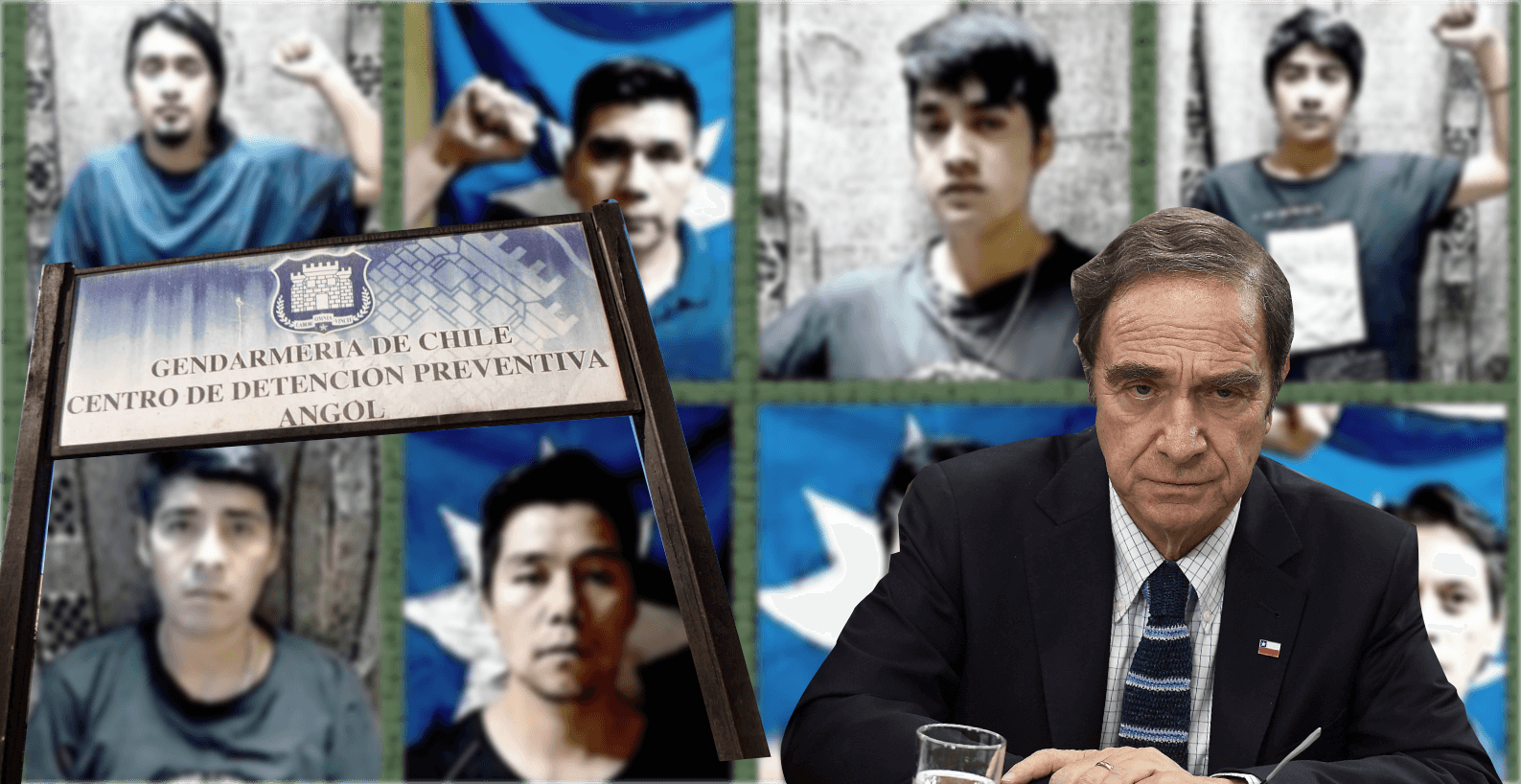 Presos Políticos Mapuche de Angol inician huelga seca